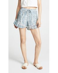 Scotch & Soda - Cotton Silk Shorts - Lyst