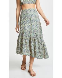 6 Shore Road By Pooja - Floral Skirt - Lyst
