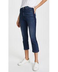 Rachel Comey - Cropped Tux Jeans - Lyst