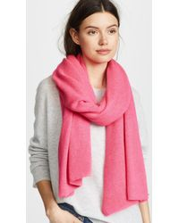 White + Warren | Travel Wrap Scarf | Lyst