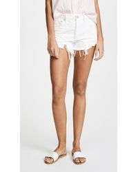 Free People - Loving Good Vibrations Cutoff Shorts - Lyst