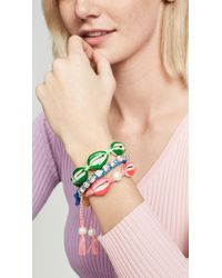 Venessa Arizaga - Pearly Shell Bracelet - Lyst