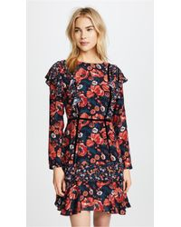 Ella Moon - Ruffled Floral Dress - Lyst