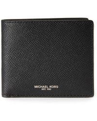 Michael Kors - Harrison Leather Billfold - Lyst