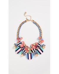 Kate Spade - Set Sail Statement Necklace - Lyst
