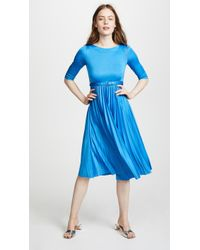 Edition10 - Pleated Midi Dress - Lyst