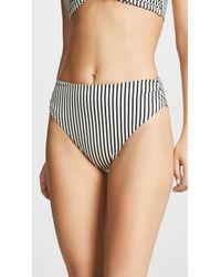 Tori Praver Swimwear - Symone High Waisted Cheeky Bikini Bottoms - Lyst