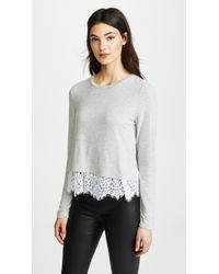 Generation Love - Esther Top With Lace Trim - Lyst