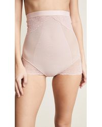 Spanx - Lace Collection High Waisted Briefs - Lyst