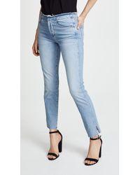 3x1 - Raw Edge Shelter Slim Jeans - Lyst