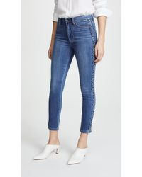 Joe's Jeans - The Charlie High Rise Skinny Ankle Jeans - Lyst