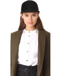 Janessa Leone - Parker Brimmed Cap - Lyst