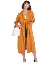 BURU White Label Everyday Trench - Orange