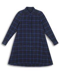 HATCH - The Maggie Flannel Dress - Lyst