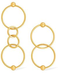 Rachel Zoe - Elyse Multi-hoop Earrings - Lyst