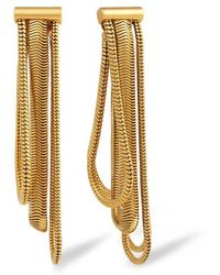 Rachel Zoe - Jade Snake-chain Drop Earrings - Lyst