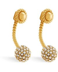 Rachel Zoe - Jesse Crystal Pavé Drop Earrings - Lyst