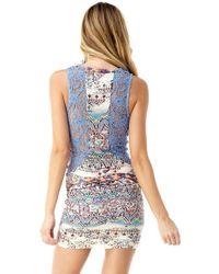 Sky - Indi Mini Dress - Lyst