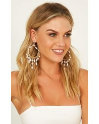 Showpo - Not Another Second Earrings - Lyst