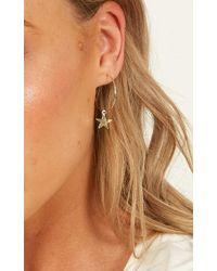 Showpo - Follow Up Earrings - Lyst