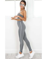 Showpo - Make A Move Tights In Charcoal Marle - Lyst