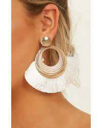 Showpo - All My People Earrings - Lyst