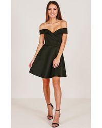 Showpo - Never Let Go Dress In Black - Lyst
