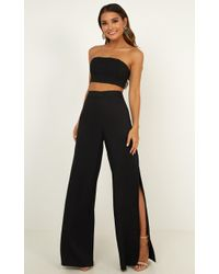 Showpo - I'm The One Two Piece Set - Lyst