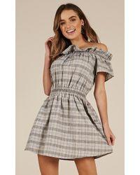 Showpo - Standing Ovation Dress - Lyst