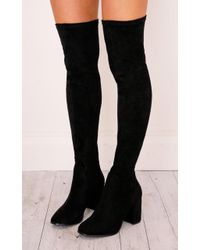Showpo - Therapy Shoes - Hanover In Black - Lyst