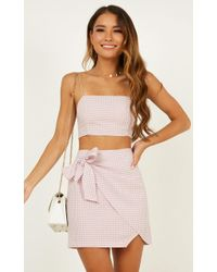 Showpo - Keep On Turning Two Piece Set - Lyst