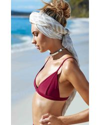 Showpo - All You Ever Wanted Bikini Top In Wine - Lyst