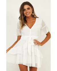 Showpo - Know What You Want Dress - Lyst