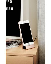 Showpo - Iphone Charging Dock In Rose Gold - Lyst