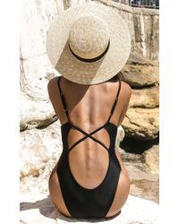 Showpo | Anja One Piece In Black | Lyst