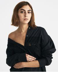 Lutz Huelle - Black Lace Shirt - Lyst