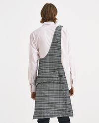 Raf Simons - Black And White Striped Coat Bag - Lyst