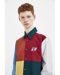 Xander Zhou - Multi Colour Long Sleeve Shirt - Lyst