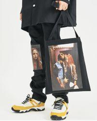 Raf Simons - Couple Print Tote Bag - Lyst