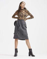 Maison Margiela - Skirt Top With Slits - Lyst