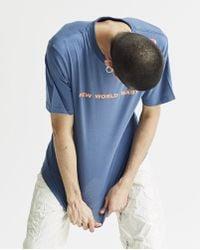Xander Zhou - 'new World Baby' T-shirt - Lyst