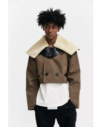 Xander Zhou | Cropped Buttoned Jacket | Lyst