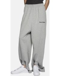 Gosha Rubchinskiy - Oversized 'save And Survive' Double Cuff Joggers - Lyst