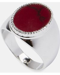O Thongthai | Silver Signet Ring | Lyst