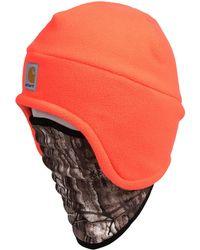 832977cb53e80 Carhartt - Fleece 2-in-1 Hat gaiter - Lyst