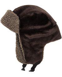 e236d48a510 Lyst - Stussy Sherpa Fleece Bucket Hat in Black for Men