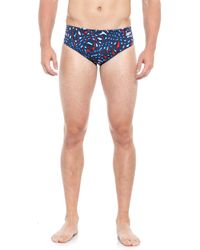 Speedo - Amplified Pulse Swim Briefs (for Men) - Lyst