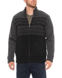Tricots St Raphael - Fair Isle Sweater Jacket (for Men) - Lyst