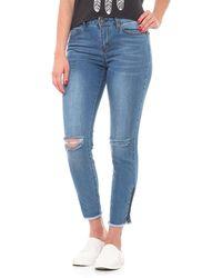 Velvet Heart - Skinny Distressed Jeans (for Women) - Lyst