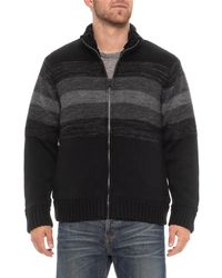 Tricots St Raphael - Striped Sweater Jacket (for Men) - Lyst